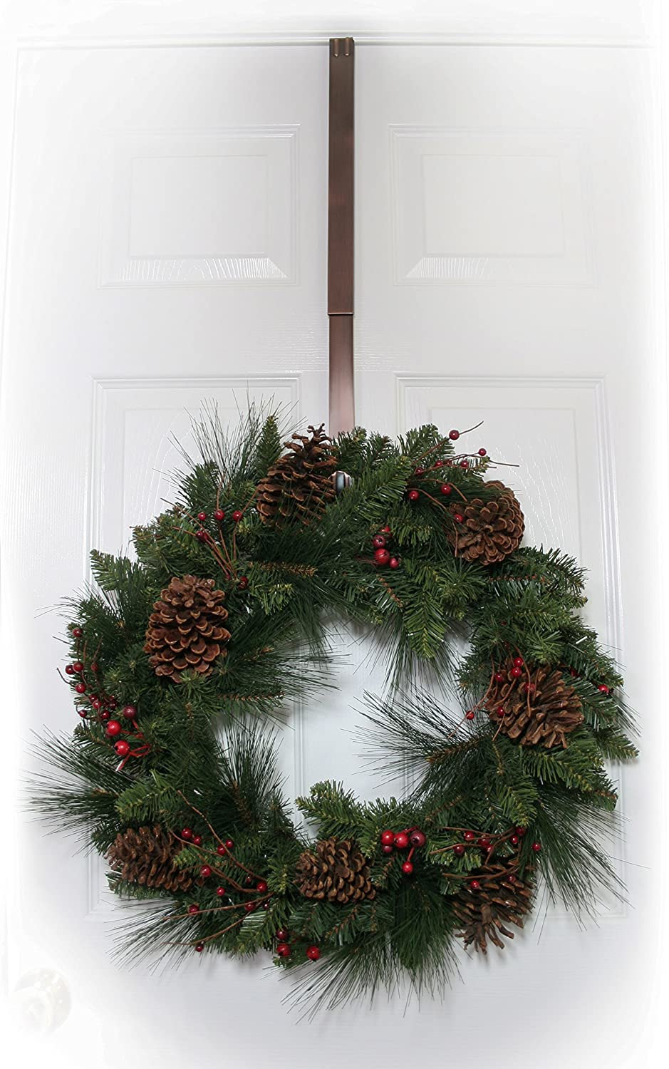 Beau Amazon.com: Haute Decor Adjustable Length Wreath Hanger, 20 Lb: Home  Improvement