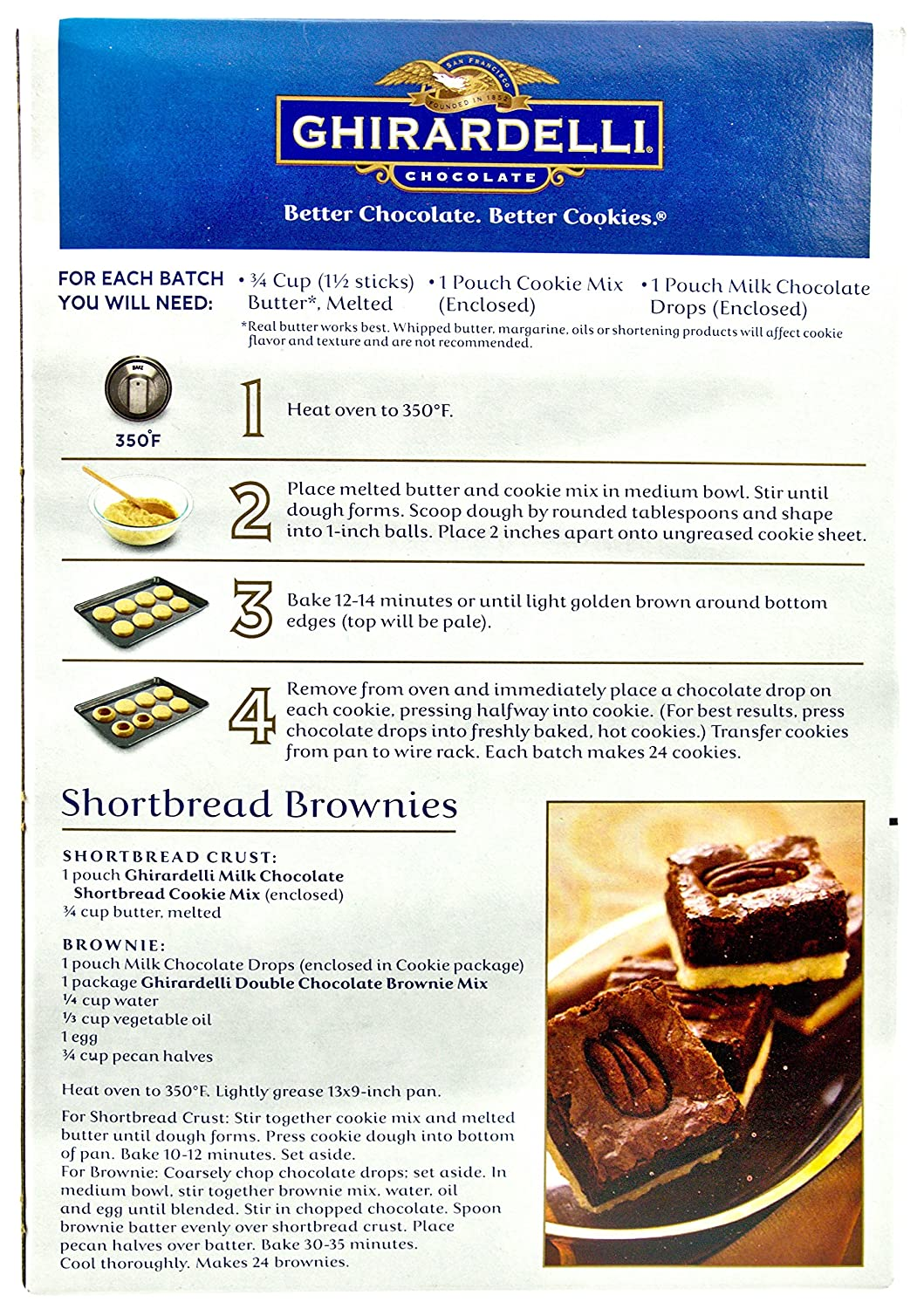 Where To Buy Ghirardelli Cake Mix Recipe