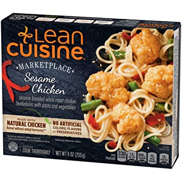 Lean Cuisine Marketplace Sesame Chicken With Pasta Frozen Meal