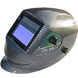 Auto Darken Welding & Grinding Helmet - Varioshade - CE Approved - Sliver Pattern