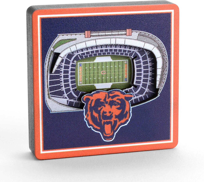 YouTheFan NFL 3D StadiumView Magnet