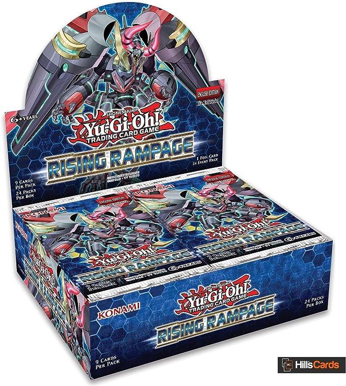 Yu-Gi-Oh! KONRIRA Rising Rampage Booster Caja de 24 Paquetes, Multi: Amazon.es: Juguetes y juegos