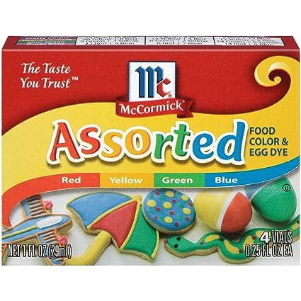 McCormick Assorted Food Color, 1 fl oz (Pack - 24)