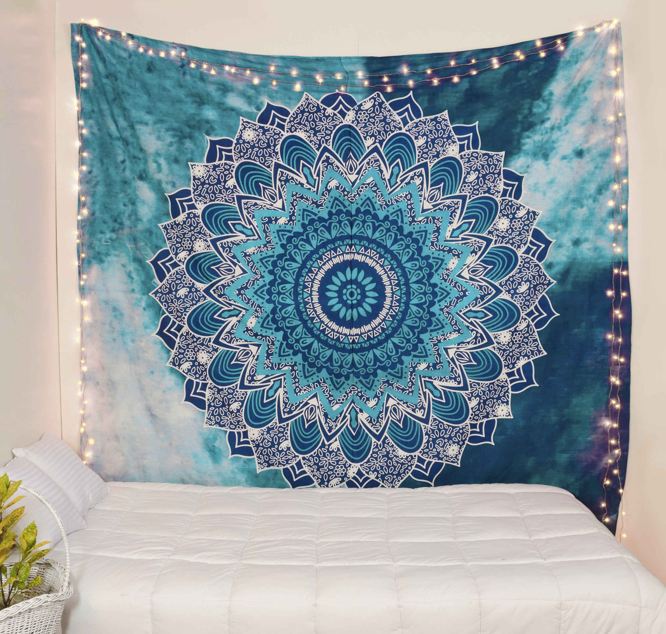 Popular Handicrafts Kp842 Hippie Mandala Tapestry Hippie Tapestries Mandala wall hanging Tapestries Wall Tapestries Mandala tapestries Tapestry Wall Hanging Ombre Mandala Tapestries Boho Tapestries by Popular Handicrafts