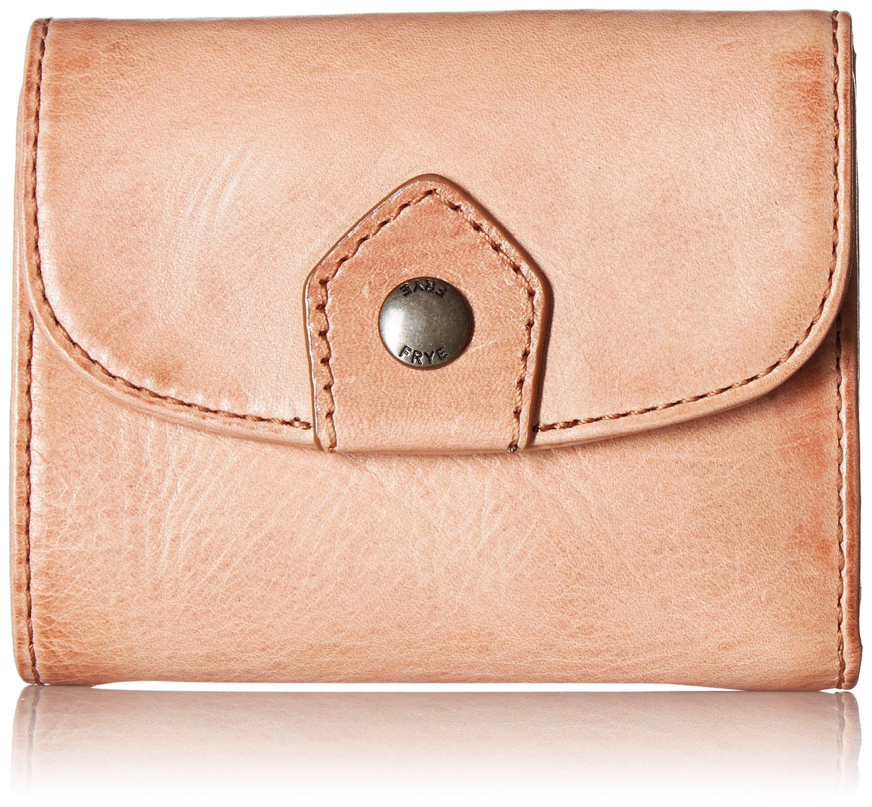 FRYE Women's Melissa Medium Snap Wallet, Dusty Rose, One Size