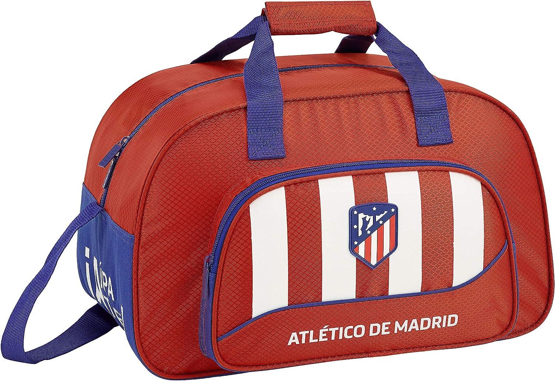 Atlético de madrid bolsa de deporte, bolso de viaje.