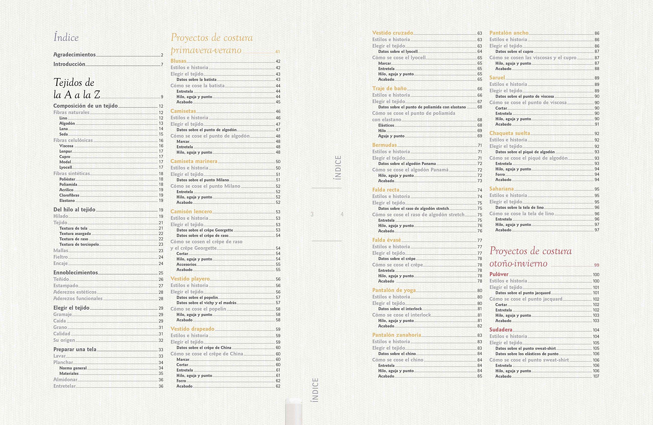 Diseño de moda. Guía de tejidos para proyectos de costura ...