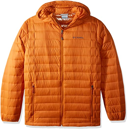 d30cb5d1d Columbia Men's Voodoo Falls 590 TurboDown Big & Tall Hooded Jacket, Bright  Copper, Large