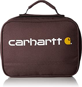 Carhartt Insulated Soft-Sided Lunchbox, Wine