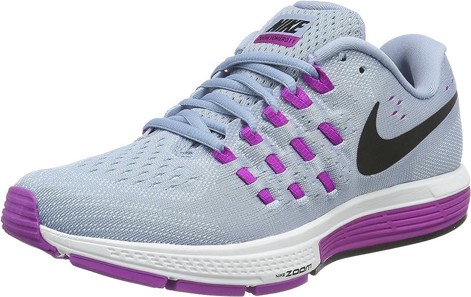 Nike Wmns Air Zoom Vomero 11, Zapatillas de Running para Mujer, Azul (Blue Grey/Blk-Hypr Vlt-Bl TNT), 36.5 EU: Amazon.es: Zapatos y complementos