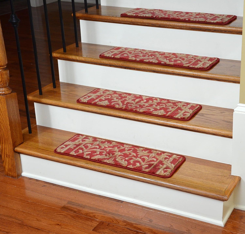 Amazon.com: Premium Carpet Stair Treads   Baroque Spice: Industrial U0026  Scientific