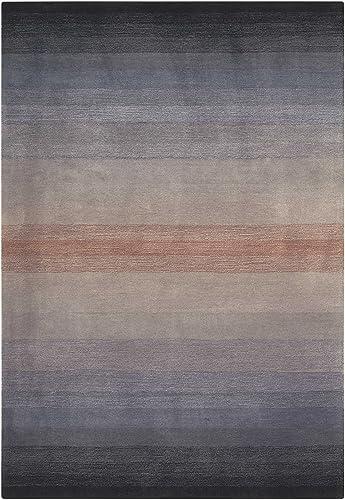 Nourison Contour 8 Grey Area Rug Size 8 x 10 6