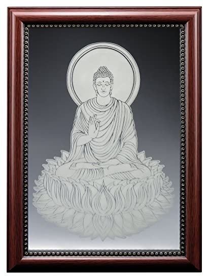 Amazon.com: Thai Buddhism Thai Buddha Fine Glass Mirror Etching ...