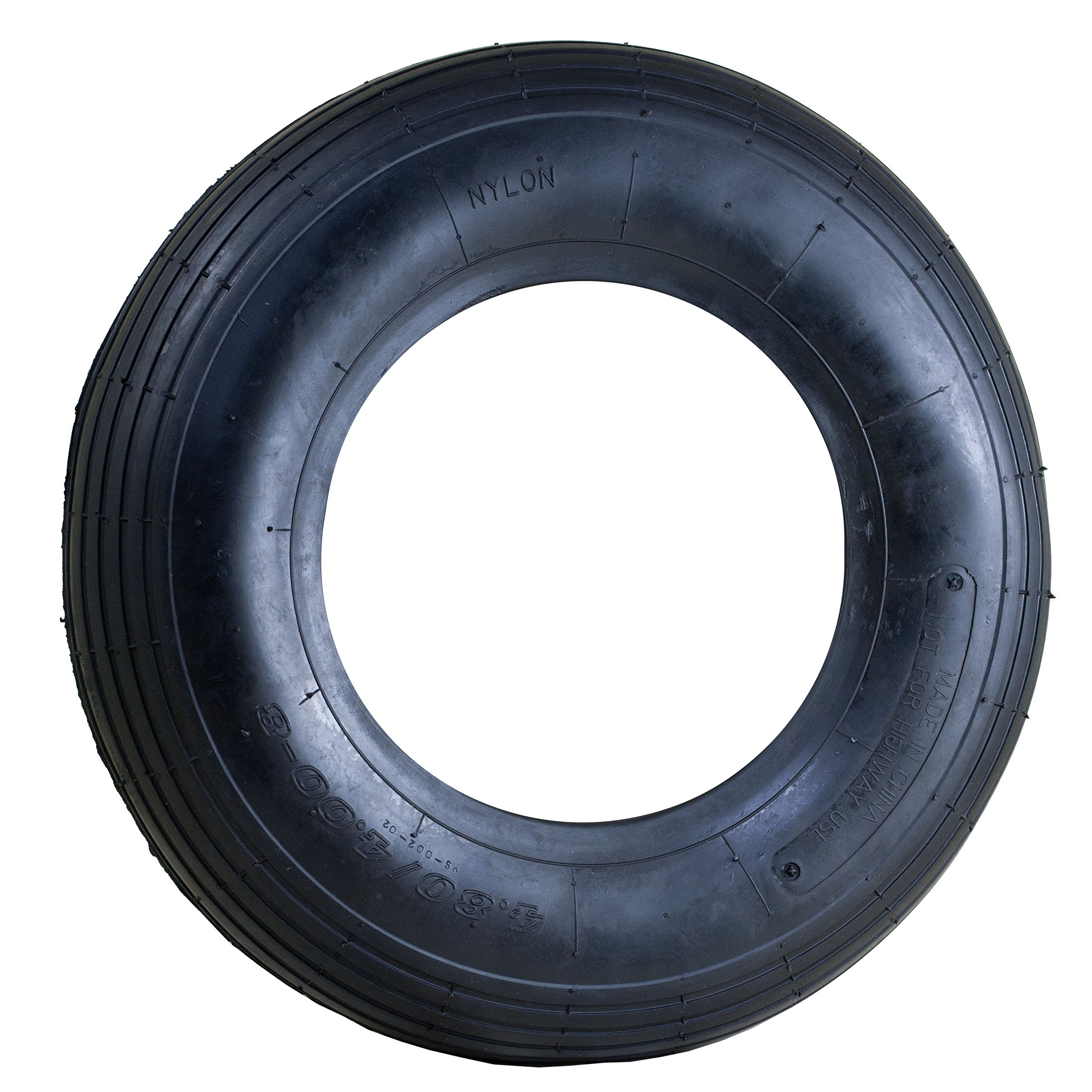 Marathon Industries 4.80/4.00-8'' Replacement Pneumatic Wheel Tire and Tube