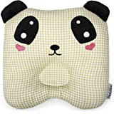 Toddler Pillow - Handmade Nursing Pillow - Baby Pillow Made of 100% Hypoallergenic Cotton - Prevent Flat Head Kids Pillow for Nursery Bedding - Soft & Breathable Infant Pillow for Toddler Bed - Panda