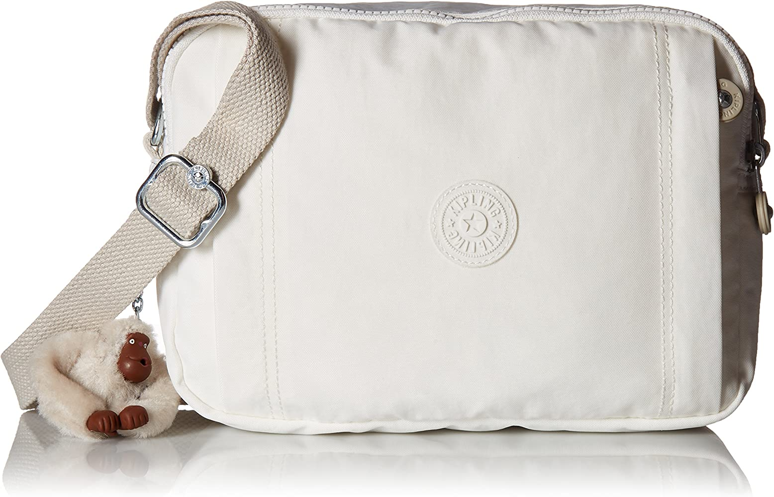 656d11a33 Kipling Benci Alabaster Crossbody Camera Bag: Handbags: Amazon.com