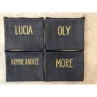 Cosmetiqueras pouch bolsa organizadora mujer dama personalizables con nombre o iniciales