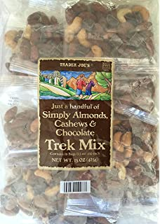 Image result for cashew chocolate almond trail mix trader joe