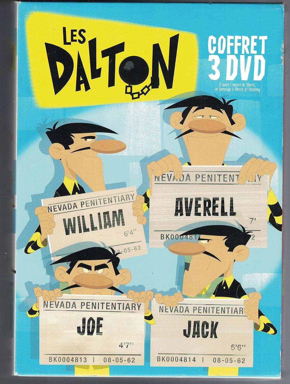 Amazon Com Les Dalton Coffret 3 Dvd Joe Le Dirlo La