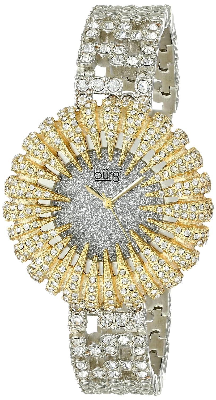 Burgi Damen-Armbanduhr Analog Quarz BUR054YG