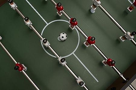 Calma Dragon Mesa de Fútbol Futbolín Hecho de Madera 4 Bolas Recubrimiento de Goma Antideslizante Metegol Fútbolista Deporte Medida 121 x 61 x 79 cm: Amazon.es: Juguetes y juegos