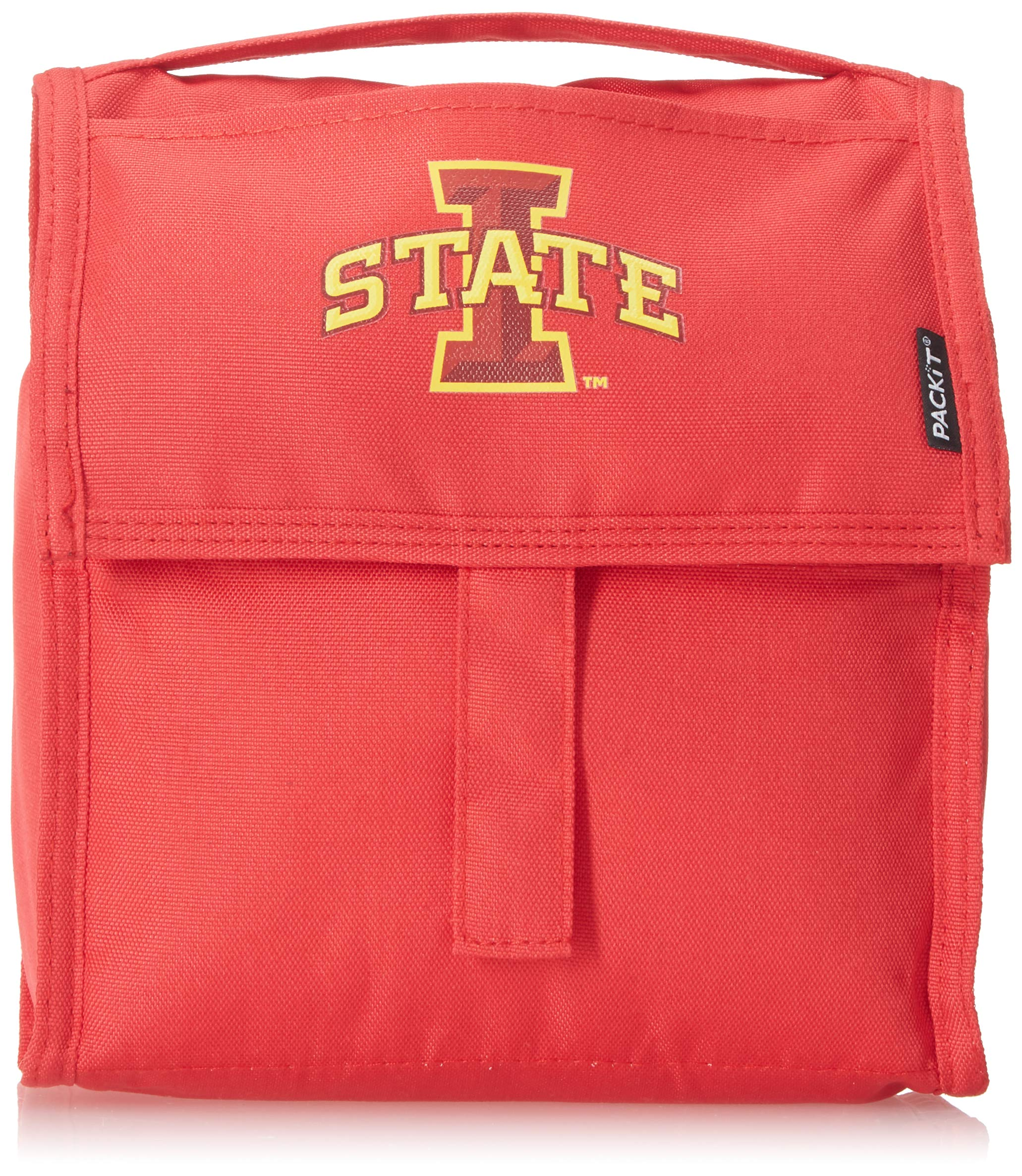 Kolder NCAA Iowa State Cyclones Packit Freezable Lunch Bag, Red