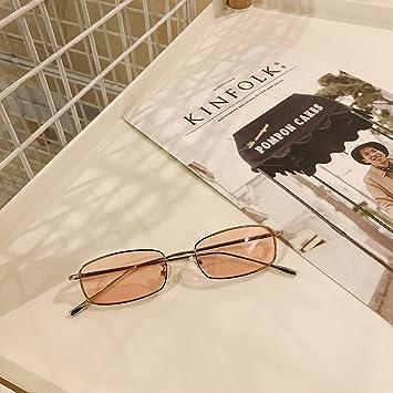 VVIIYJ Gafas de sol femeninas de Gafas de sol cuadradas de ...