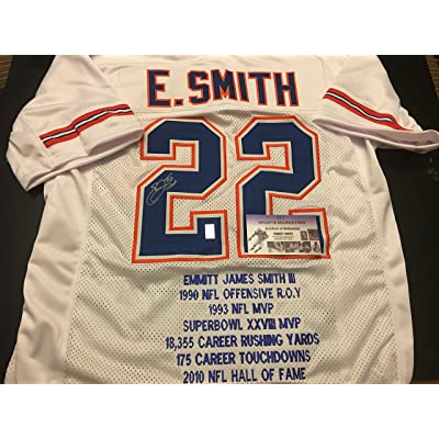 sports shoes 1108b 5f150 Emmitt Smith Autographed Signed Custom Florida Gators RARE ...