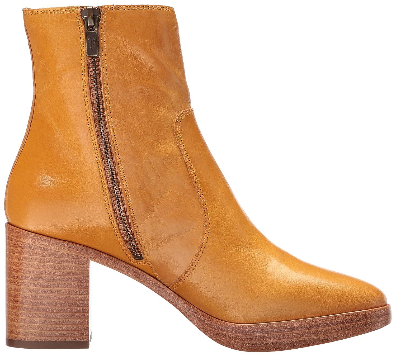 FRYE Women's Joan Campus Short Boot B01N9O2LIY 11 B(M) US|Mustard Smooth Antique Pull Up