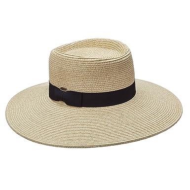 88d9f04942a1a2 SCALA COLLEZIONE HUGE 4 INCH BRIM UPF50+ PAPER BRAID SUN HAT (LP237)  (NATURAL