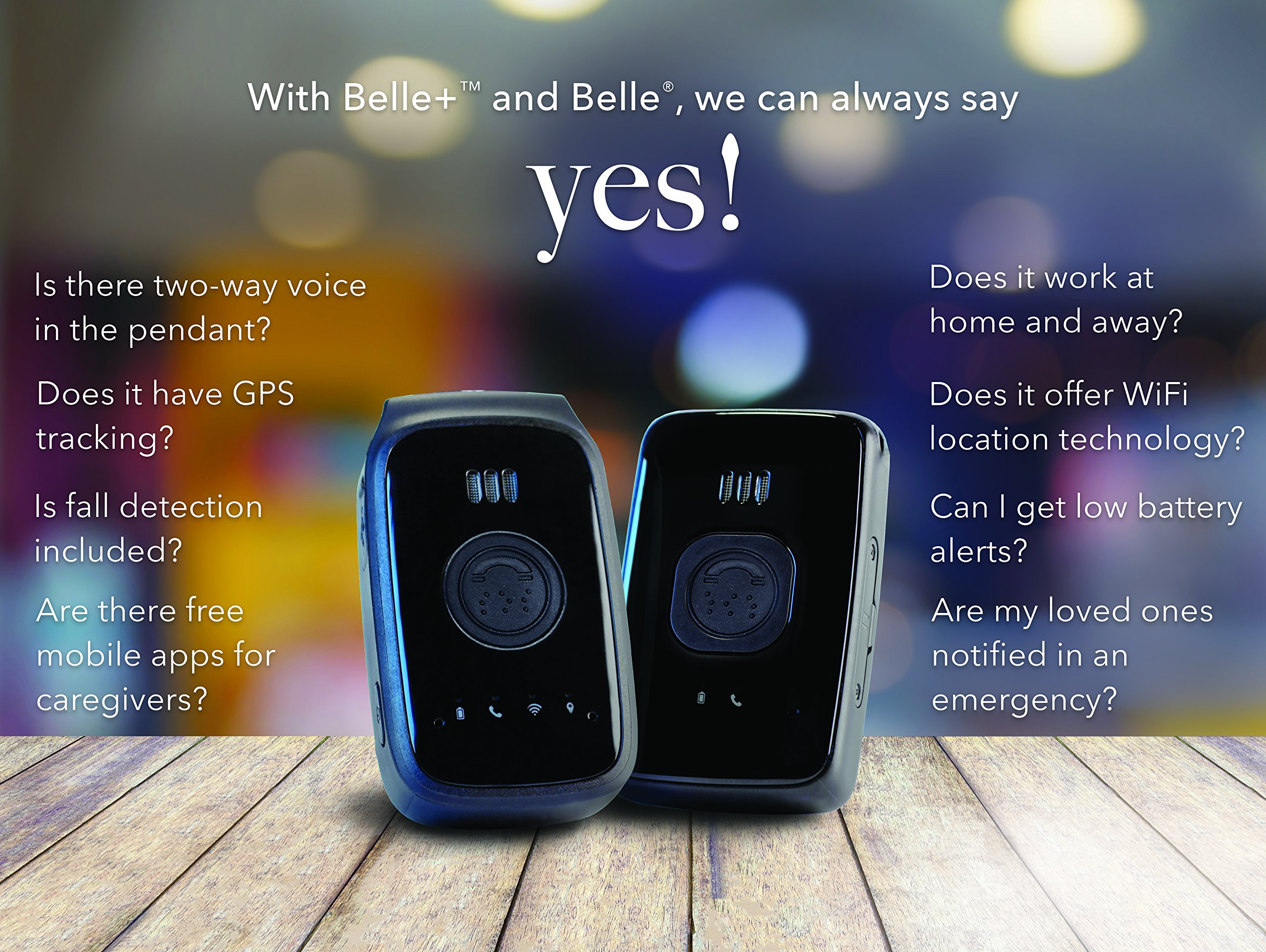 Home&Wellness Co. Belle Medical Alert Device, No Fall Detection, First 4 Months Included in Purchase Price by Home & Wellness Co. (Image #5)