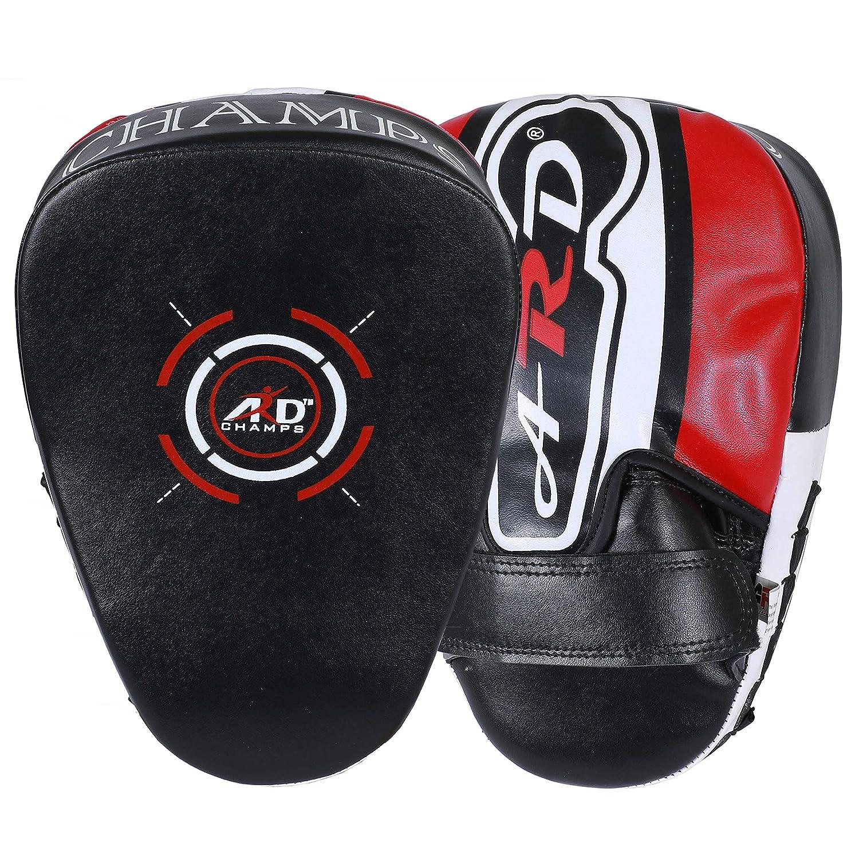 ARD ボクシングパンチングミット フォーカスパッド 総合格闘技 ターゲットトレーニング キックボクシング ストライキング ムエタイ フック&ジャブ パンチングパッド B07MLVWW76