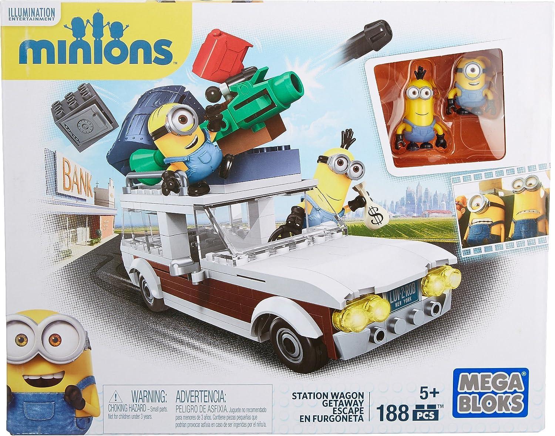 MINIONS - Juego de construcción, Furgoneta, Multicolor (Mattel 601155): Amazon.es: Juguetes y juegos