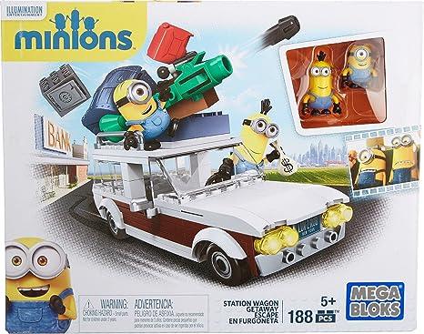 Mega Bloks Cnf56 Minions Station Wagon Amazonit Giochi E Giocattoli