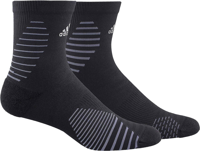 adidas Unisex-Adult Running Mid-Crew Sock (1-Pair)