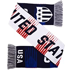 USA Soccer High-Definition HD Knit Scarf