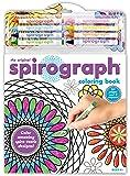 Kahootz Spirograph Coloring Book Set-, Other, Multicoloured
