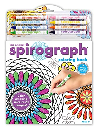 spirograph coloring book crayons - Coloring Book Crayons