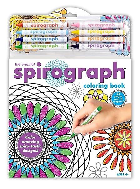 Amazon.com: Kahootz Spirograph Coloring Book & Crayons: Toys & Games