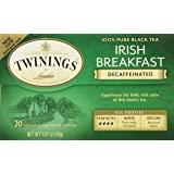 Twinings Tea Irish Breakfast Tea, Decaf, 20 ct