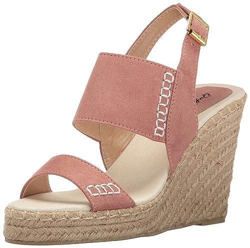 123152b49a8 Qupid Women's Knox-01xx Wedge Sandal