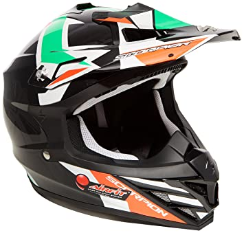 Scorpion Casco Moto VX-15 EVO AIR Robot, multicolor, talla XS