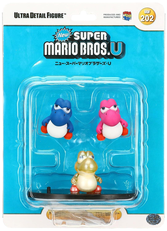 Medicom Nintendo Super Mario Bros  Ultra Detail Figure Series 2: Baby Yoshi  UDF 3-Pack Action Figure