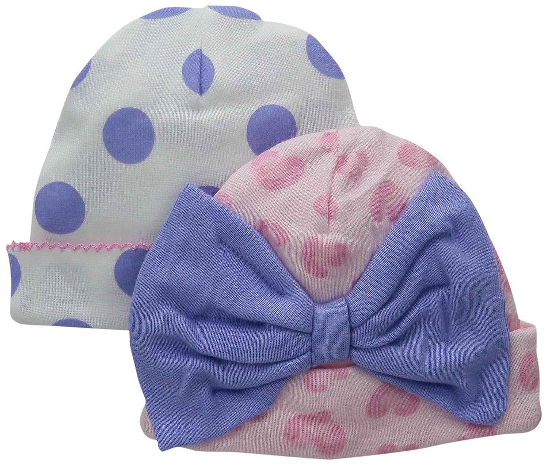 Gerber Baby Girls 2-Pack Novelty Cap