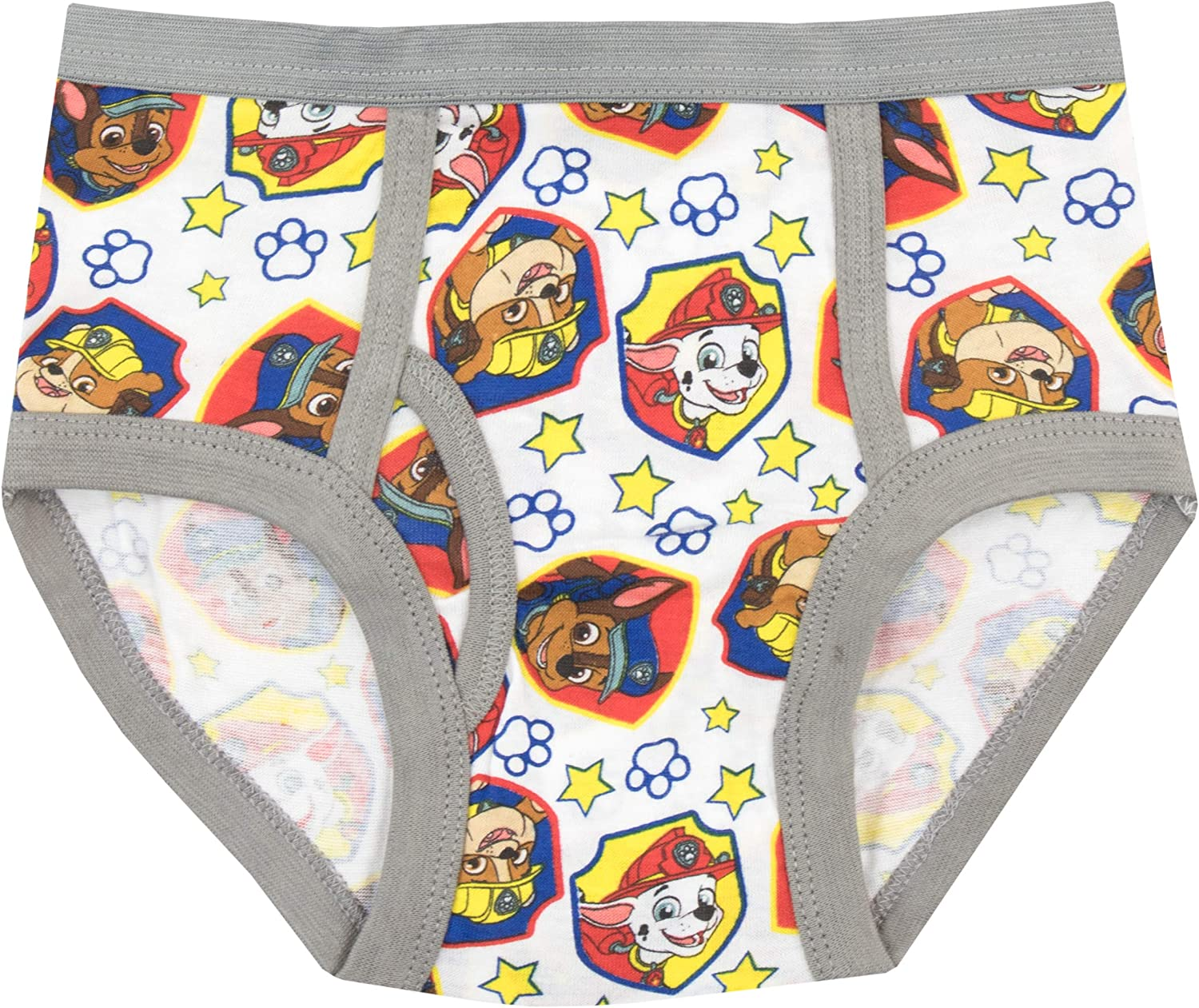 PAW PATROL Boys Chase Marshall and Rubble Underwear Pack of 5