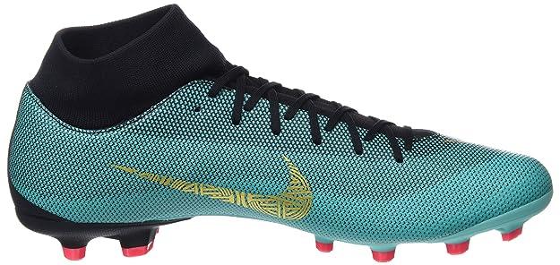 Nike Jr. Mercurial Vapor XII Academy Cr7 MG, Chaussures de Football Mixte Enfant, Turquoise (Clear Jade/MTLC Vivi 390), 36 EU