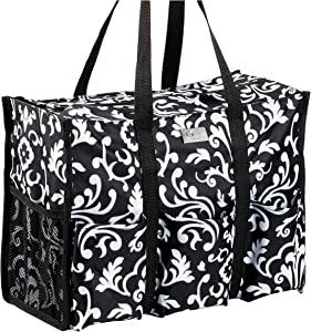 Pursetti Teacher Bag with Pockets - Perfect Gift for Teacher's Appreciation and Christmas (Paisley)