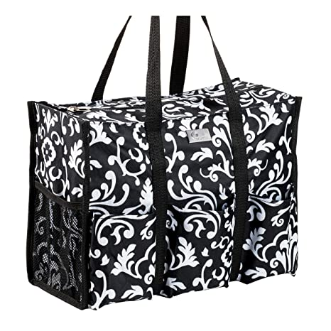 39aa90310295 Amazon.com  Pursetti Teacher Bag with Pockets - Perfect Gift for Teacher s  Appreciation and Christmas (Paisley Large)  Office Products