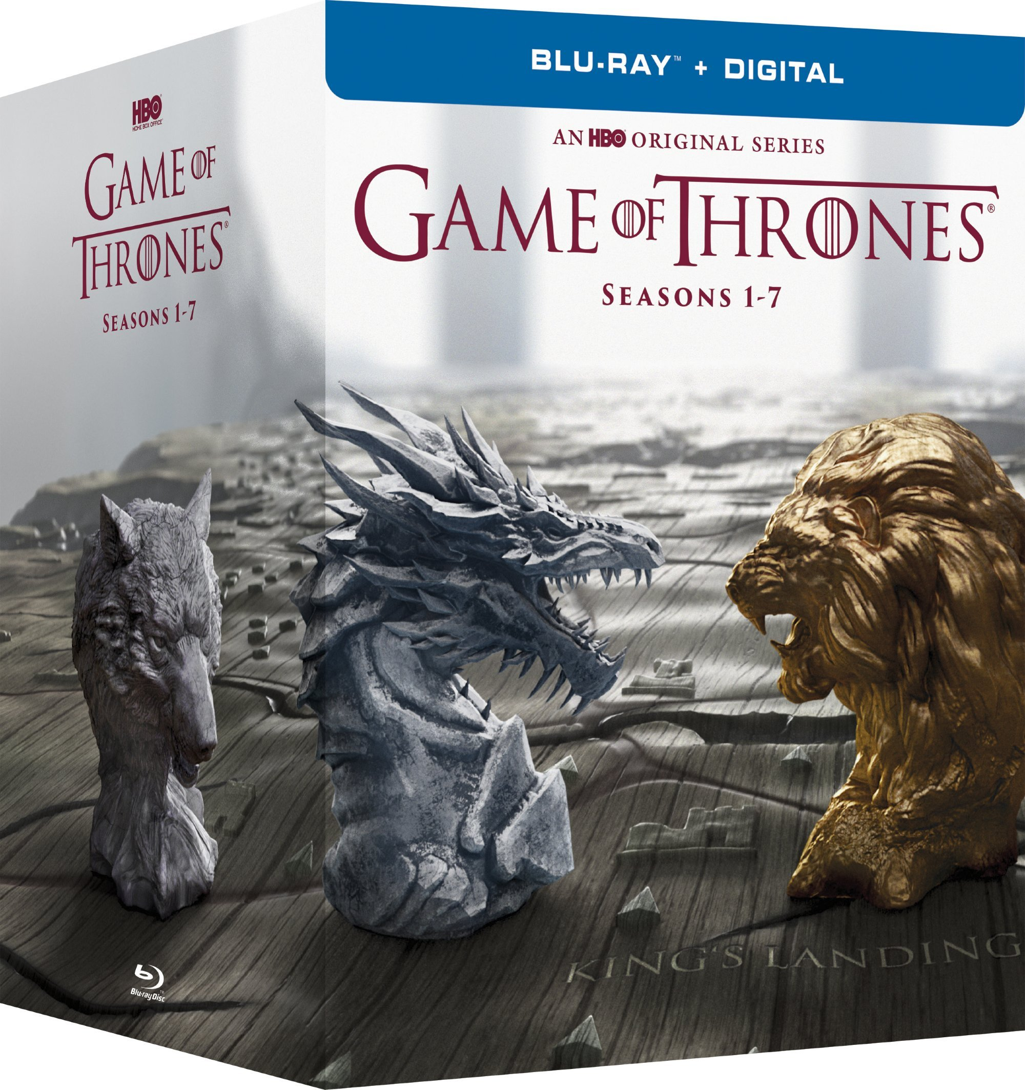 Game of Thrones: The Complete Seasons 1-7 (Boxed Set, Full Frame, Gift Set, Ultraviolet Digital Copy, Slipsleeve Packaging)