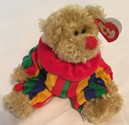 Image Unavailable. Image not available for. Color  TY Attic Treasures PICCADILLY  Clown Jointed 8 quot  Bear 3f4d3a411c8d